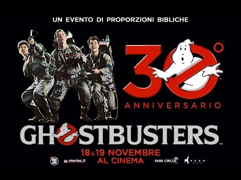 GHOSTBUSTERS 30° ANNIVERSARIO [OFFICIAL TRAILER]