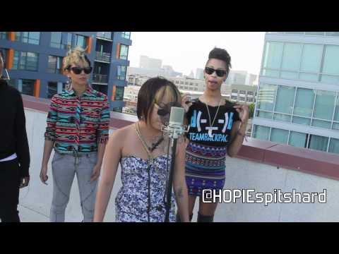 Team Backpack cypher with Rocky Rivera x Plane Jane x Hopie Spitshard