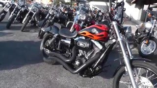 10. 316444 - 2010 Harley Davidson Dyna Wide Glide FXDWG - Used Motorcycle For Sale
