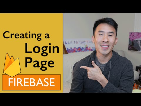 Swift: Firebase 3 – How to Build a Login Page Using iOS9 Constraint Anchors (Ep 1)