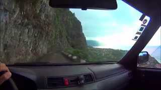madeira island, beauty, north coast, nature, drone, car, trip, video
