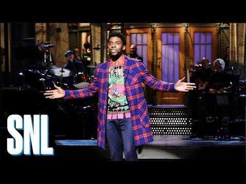 Chadwick Boseman Monologue - SNL