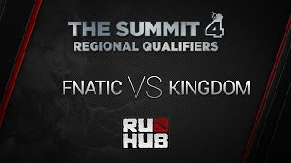 Fnatic vs Kingdom, game 1
