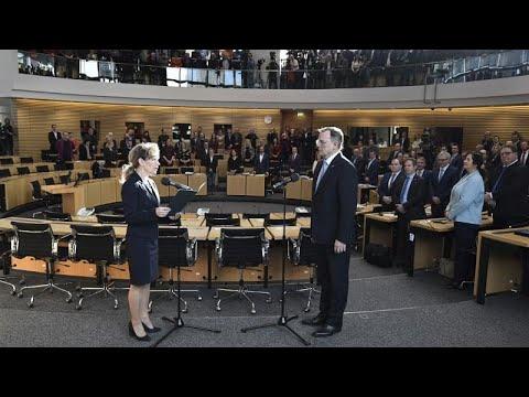 Thüringen: Ramelow (Linke) im dritten Wahlgang zum Mi ...