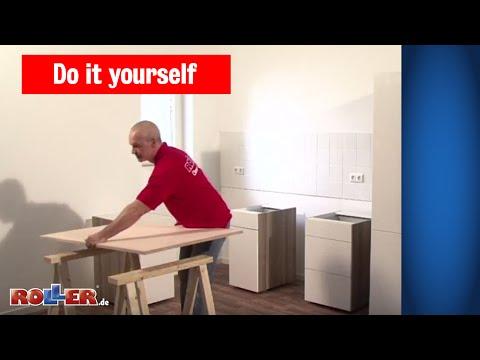 Küchen-Schränke montieren - ROLLER Do it yourself