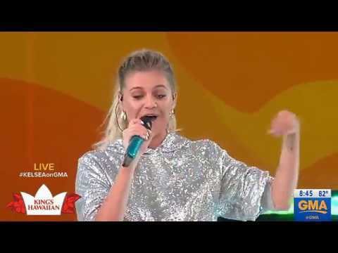 Kelsea Ballerini - I Hate Love Songs (8.3.2018)(#GMA 1080p)