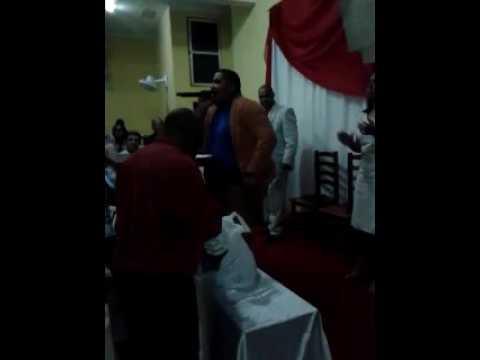 Rafael Ribeiro Mini vigília  e festividade da igreja  ad pedro canário de Barra do Piraí Rj 9 anos