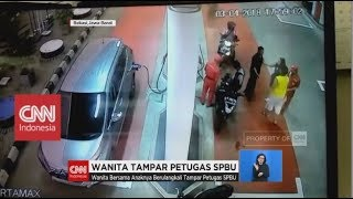 Video Wanita Tampar Petugas SPBU MP3, 3GP, MP4, WEBM, AVI, FLV Mei 2018