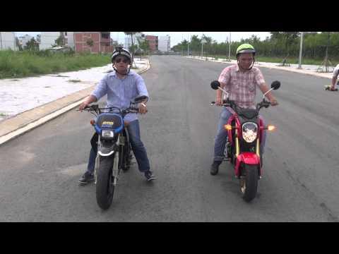 Đối đầu Honda MSX 125 vs Kawasaki KSR 50