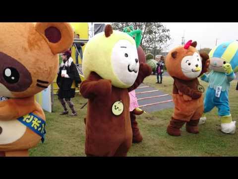 みやざき犬ダンス@ゆるキャラサミット in 羽生