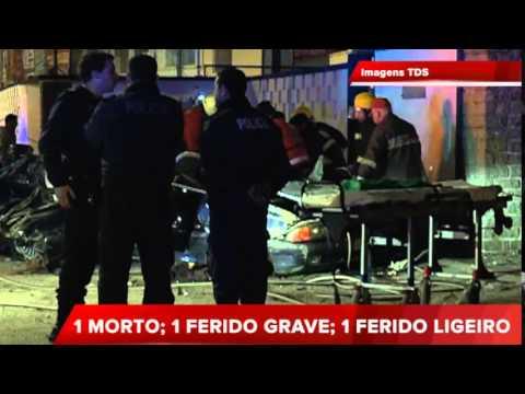 ACIDENTE GRAVE EM ÉVORA FAZ 1 MORTO