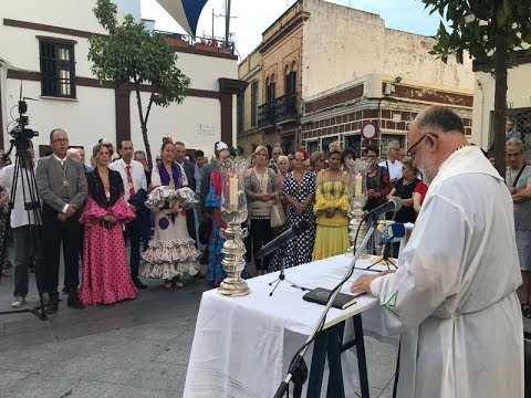 Misa de Romeros Hermandad del Rocio de Isla Cristina 2019
