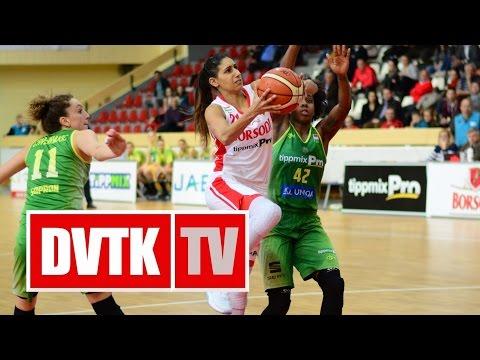 Női Kosárlabda NB I. A-csoport 21. forduló. Aluinvent DVTK - Uniqa Sopron