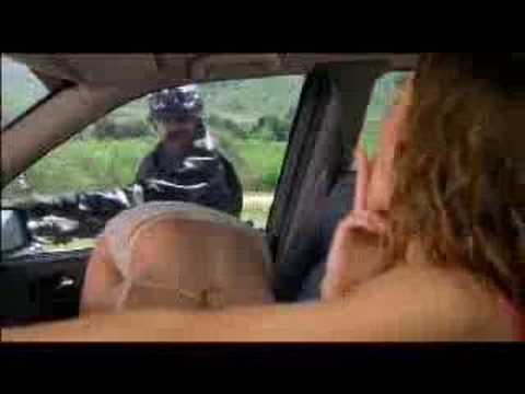 لحس الكس - two hot chics in a car and a guy on the harley wach them