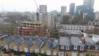 So thats what the neighbours roof looks like.Candy Brothers house being built