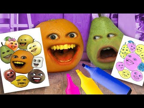 Annoying Orange - The 3 Marker Challenge!
