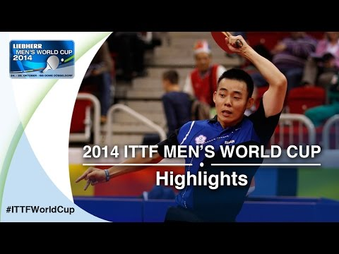 Cup - Review all the highlights from the CHEN Chien-An TPE vs CRISAN Adrian Qual Groups first stage table tennis match at the2014 Men's World Cup in Düsseldorf, GERMANY Subscribe here for more...