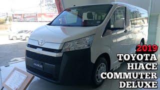 2019 Toyota Hiace Commuter Deluxe Walkaround - Philippines