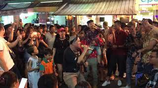 Huỳnh James Pjnboys Đại náo phố tây bùi viện đêm trung thu 2017