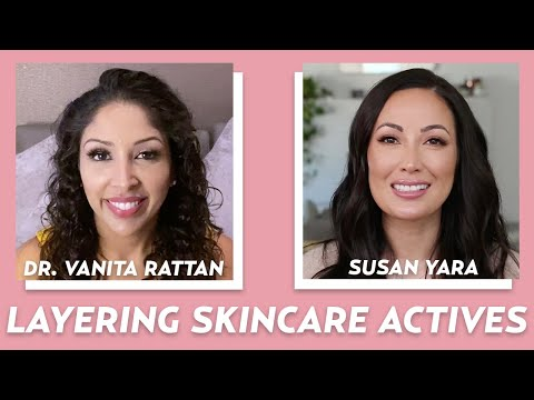 How to Safely Layer Actives For Hyperpigmentation with Dr. Vanita Rattan | Skincare with @Susan Yara