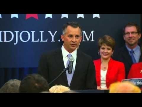 Republican - David Jolly (R) defeated Alex Sink (D) on Tuesday in a Tampa-area House district where President Obama's health care overhaul got its first test ahead of Nov...