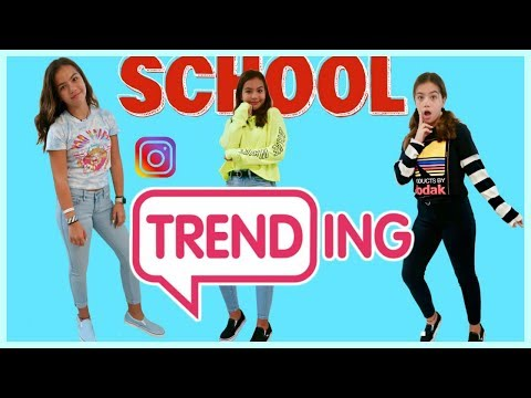 I WORE TRENDY INSTAGRAM OUTFITS TO SCHOOL ( for a week ) | SISTER FOREVER