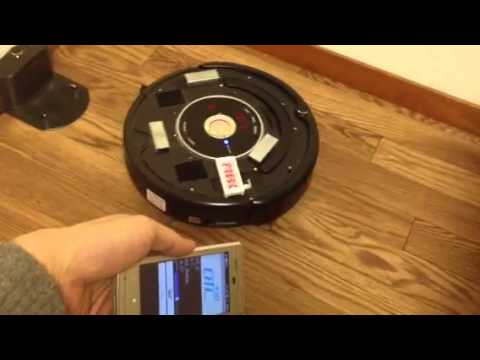Video of ROS Sensor Roomba Controller