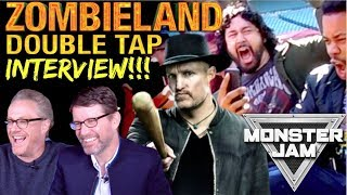 ZOMBIELAND: DOUBLE TAP | Interview W/ Filmmakers + MONSTER TRUCK RIDE!!! by The Reel Rejects