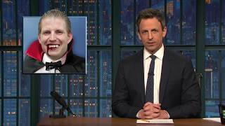 Video Father NO! Late Night Seth Meyers impressions of Eric Trump MP3, 3GP, MP4, WEBM, AVI, FLV April 2018