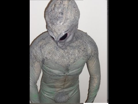 BEST Grey Alien Costume