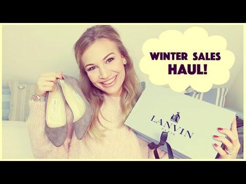 Winter Sales Haul   Lanvin, Jimmy Choo, Alexander McQueen