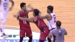 Camson - Maliksi skirmish | PBA Commissioner's Cup 2018