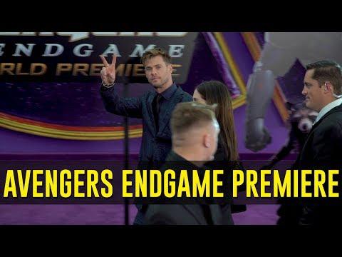 Avengers: Endgame Red Carpet World Premiere