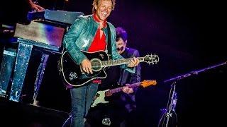 Bon Jovi tem um história de mais de três décadas de sucesso, e é um dos maiores nomes do Rock mundial. De volta ao Rock in Rio após um show arrebatador em 2013, o grupo promete levantar a nova Cidade do Rock no dia 22 de setembro, em uma noite que ainda terá os hits inesquecíveis do Tears for Fears, o peso pós-grunge do Alter Bridge e o balanço irresistível do Jota Quest! Ou seja: Você não pode deixar de estar lá. Vem que ainda dá tempo! Acesse: rockinrio.ingresso.com e garanta seu lugar!