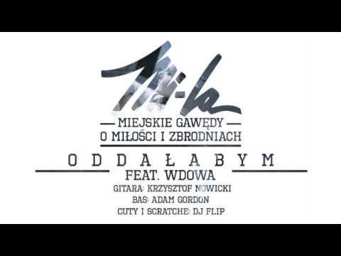 Tekst piosenki Wdowa - Oddałabym  ft. Mi-La po polsku