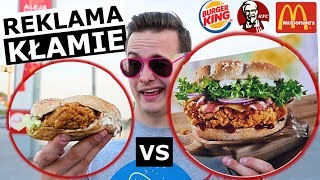 Video REKLAMA FAST FOOD vs. RZECZYWISTOŚĆ - MAK, KFC, BURGER!? MP3, 3GP, MP4, WEBM, AVI, FLV Juli 2018