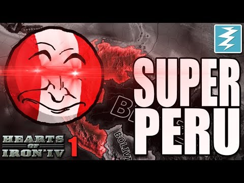 HOW TO MAKE SUPER PERU [1] CHEAT/EXPLOIT - Hearts of Iron IV