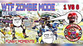 WTF ZOMBIE MODE (FUNNY MOMENTS #20)  WAR ROBOTS | PRO KILLERS