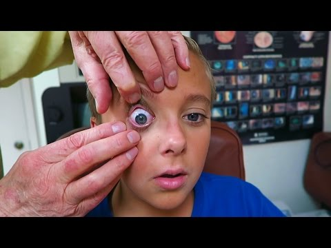 Are You Color Blind? Teens First Contact Lenses
