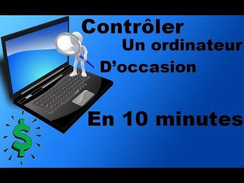 Tester le matériel de votre PC neuf ou d'occasion en moins de 10 minutes