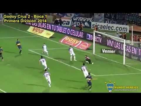 Fecha 12: Godoy Cruz 2 vs Boca 3