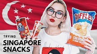 Video MY FAVOURITE SINGAPORE SNACKS! 🇸🇬 MP3, 3GP, MP4, WEBM, AVI, FLV November 2018