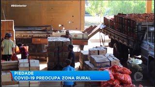 Coronavírus preocupa na zona rural de Piedade
