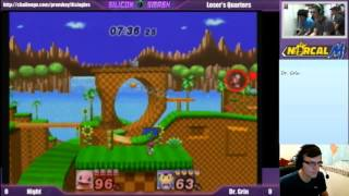 Match Analysis: Night (Squirtle) vs. Dr. Grin (Ness), Red X (Link)
