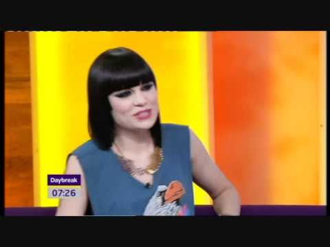 Jessie J interview on Daybreak - 18th March 2011 (HQ)