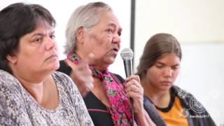 Rosalie Kunoth Monks speaks at StandUp Conference 2017. A meeting on the 10th anniversary of the NT Intervention about the suffering of the last decade, and the plans for continued resistance. 10 Years Too Long. Saturday 24th June 2017