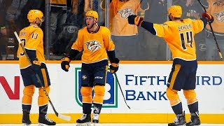Colton Sissons goes upstairs to tally pretty overtime winner by NHL