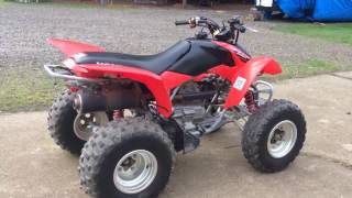 6. 2007 Honda TRX250EX Cold Start