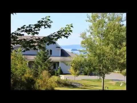 """Acadia View"" Bed & Breakfast in Gouldsboro, Maine near Acadia National Park, Schoodi… видео"