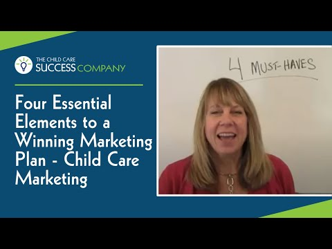 Four Essential Elements to a Winning Online Marketing Plan – Child Care Marketing